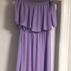 Show Me Your Mumu XXL Lilac Hacienda Maxi Dress